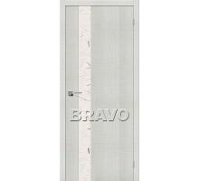 Дверь Эко Порта-51 Bianco Crosscut СТ-SA Ковров