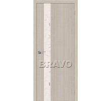 Дверь Эко Порта-51 Cappuccino Crosscut СТ-SA Ковров