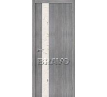 Дверь Эко Порта-51 Grey Crosscut СТ-SA 200*90