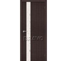 Дверь ЭКО Порта-51 Wenge Crosscut СТ-SA  Ковров