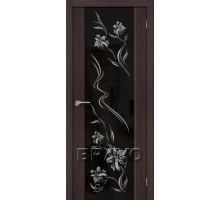 Дверь ЭКО S-13 Wenge Veralinga Print
