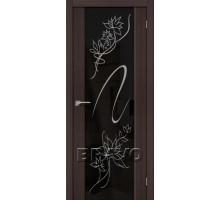 Дверь ЭКО S-13 Wenge Veralinga Stamp