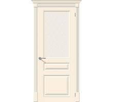 Дверь К Скинни-15.1  Cream Crystal Ковров