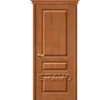 Дверь М5 ПГ Светлый лак