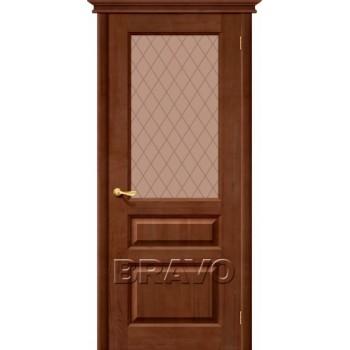 """Сарапул Ижевск Дверь М5 Т-06 (Темный Лак) ПО СТ-""""Кристалл"""" купить цена за штуку недорого каталог в наличии сайт ассортимент размеры"""
