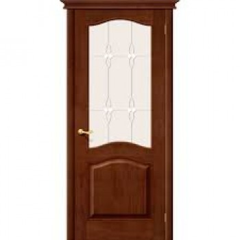 Дверь М7 Т-06   90 Темный лак ПО СТ-Сатинато