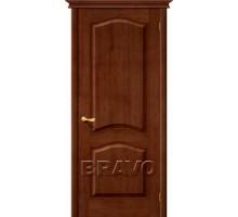 Дверь М7ш ПГ 60 Темный лак