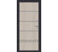 Дверь мет Оптим Лайн Capp. Crossc. 205/88,96 пр., лев. Лунный камень