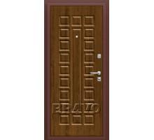 Дверь мет Оптим Нова П-26 Французский дуб 205*88,96 лев.,пр.