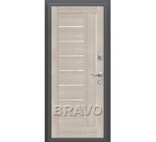 Дверь мет ДС Porta S-2 109/П29 Ант. Сер./Weт Ver 88/98 Лев,пр.