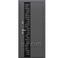 Дверь ДМ Термо 222 Capp Ver/White Perl 205*86,96 лев.,пр. Россия