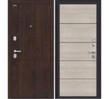 Дверь мет ДС Porta S 4.П50 Almon 28 / Cappuccino Veralinga