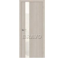 Дверь Эко Порта-51 Cappuccin Crosscut СТ-WP