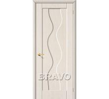 Дверь Вираж ПГ глухая белый дуб Ковров