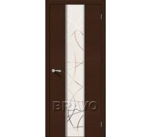 Дверь Карат Ф-27 Венге ПОЗК-Узор