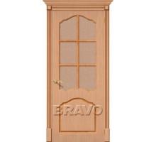 Дверь Каролина Ф-01 Дуб ПО СТ-118 Ковров