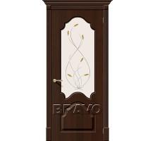 Дверь Скинни-33 П-33 (Венге) White О Ковров