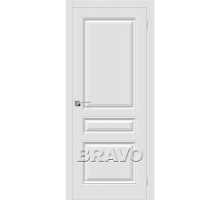 Дверь Скинни-14 П-23 Белая ПГ