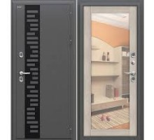 Дверь ДМ Термо 220 Capp Ver/Антик сереб.205*96,86 пра,лев Россия