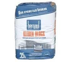 Клей для ячеистых блоков  Kleben Block Bergauf 25 кг