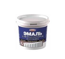 Эмаль для радиаторов акриловая Оптилюкс 0,5кг