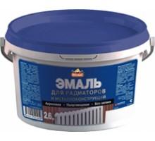 Эмаль для радиаторов акриловая Оптилюкс 2,6кг
