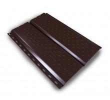 Софит металл. перфорированный Шоколад 0,45 0,25*3,0