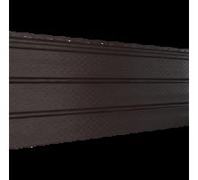 Софит коричневый 0,3*3м перфориров. Ю-Пласт
