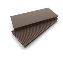 Террасная доска  шоколад колл. ВЕЛЬВЕТ DOS EXCLUSIVE 3000*135*25мм