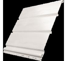 Софит белый 0,3*3м без перфорации Ю-пласт