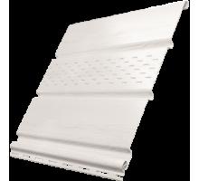 Софит белый 0,3*3м частично перфор. Ю-пласт