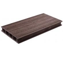 Террасная доска  шоколад колл. Дерево DOS EXCLUSIVE 3000*135*25мм