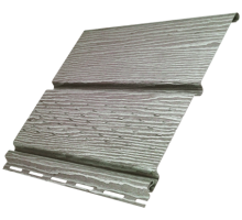 Софит Timberblock Дуб Серебристый частичная перфорация 0,23*3,4м  Ю-Пласт
