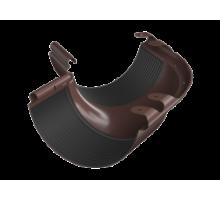 Угол наружный 135 металл водосток коричневый
