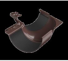 Угол внутренний 135 металл водосток коричневый