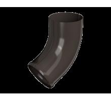 Отвод трубы металл коричневый