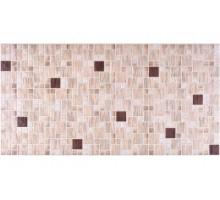 Панели ПВХ Мозаика Кофе коричневый 0,4мм 956*480 №82к