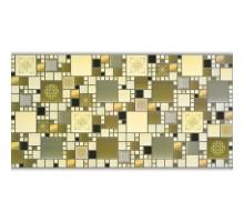 Панели ПВХ Мозаика Модерн оливковый 0,4мм 954*478 №МО2