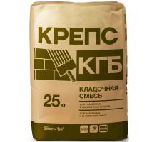Кладочная смесь Крепс КГБ для блоков из ячеистого бетона 25кг