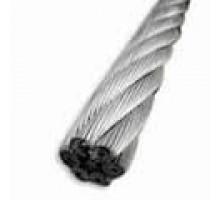 Трос стальной МФ 3,0 цинк DIN 3055 без ПВХ