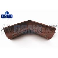 Желоб 3м Шоколад МЕТАЛЛ 125*90мм OSNO Металлкомплект