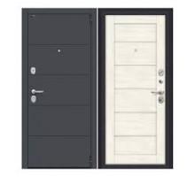 Дверь мет ДС Porta S 4.Л22 Graphite Pro/Nordic Oak