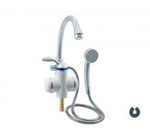 Кран мгновенного нагрева воды UNIPUMP 3000ВтBEF-001-03 с душ. лейкой