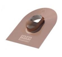 Проходной элемент шинглас коричневый Технониколь