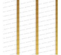 Панель трехсекционная Золото 0,24*3